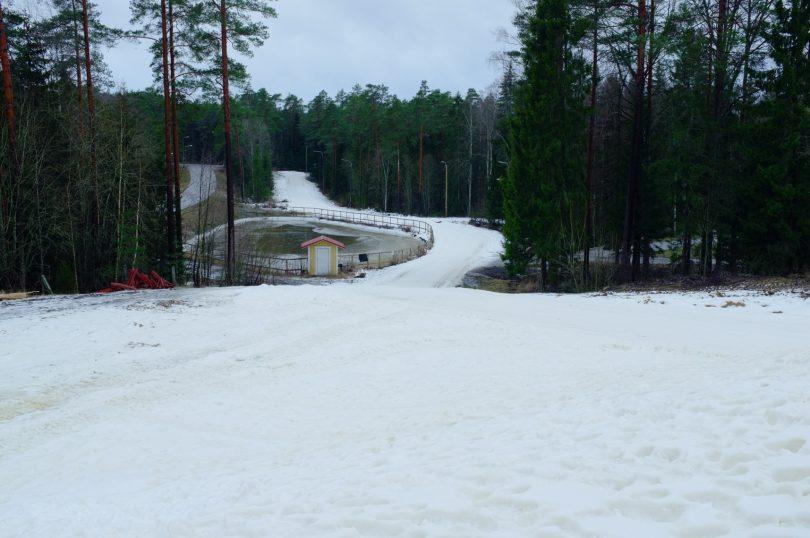 Skidspåret i Finby